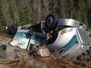 On Alaska Highway near Watson Lake Yukon - Pic taken on 22nd April 2015 (2)
