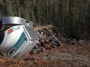 On Alaska Highway near Watson Lake Yukon - Pic taken on 22nd April 2015 (3)