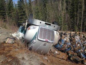 On Alaska Highway near Watson Lake Yukon - Pic taken on 22nd April 2015 (4)
