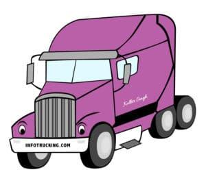 InfoTrucking Mascot for trucking Information website infotrucking.com